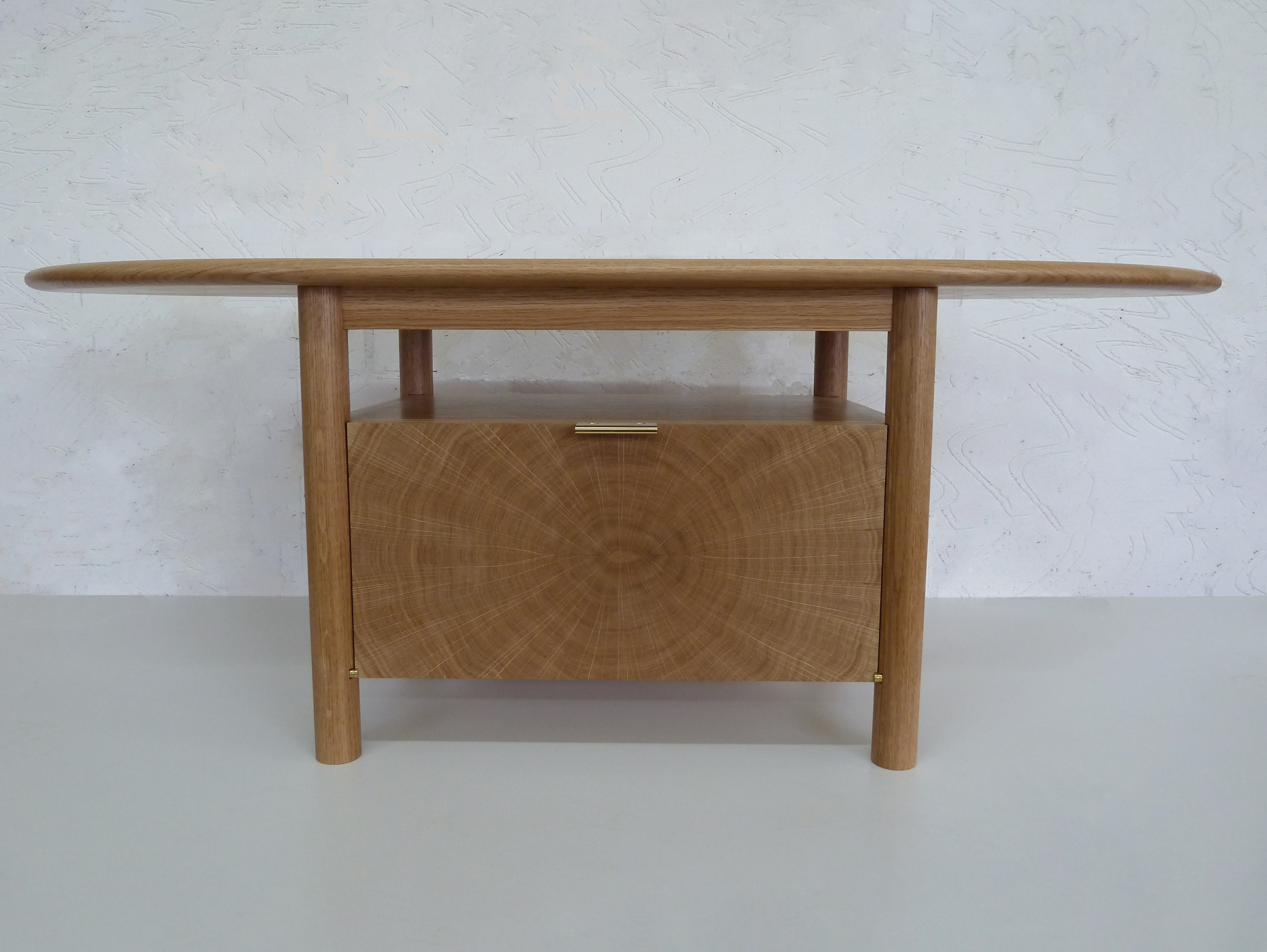 The Tree Revealed Television Table Now Completed