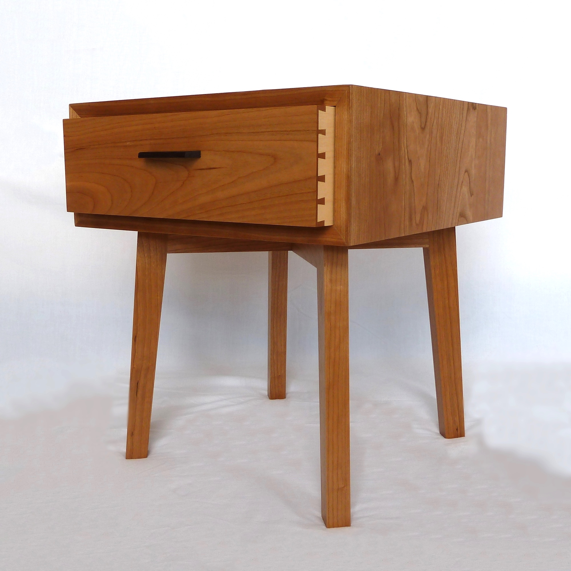 Cherry Bedside Table / Cabinet