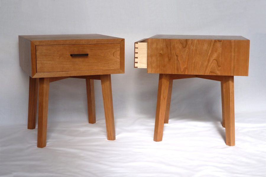Cherry Bedside Tables