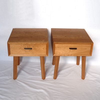 Pair of Cherry bedside tables